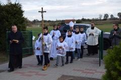 Ministranci Parafii pw. Najświętszego Serca Pana Jezusa w Grzybnie